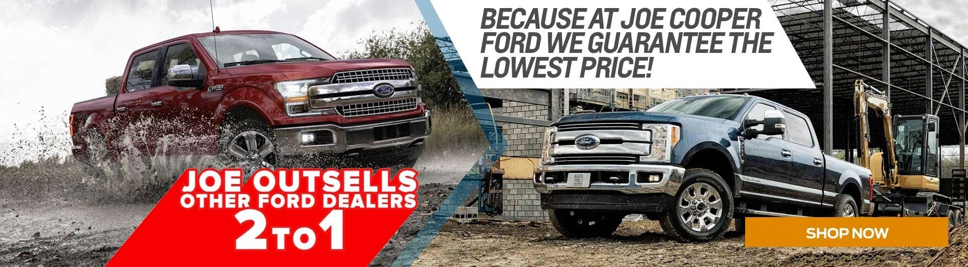 Shawnee Ford Outsells 2 to 1